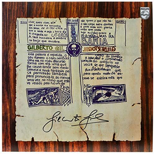 """Gilberto Gil, LP """"Gilberto Gil 1969"""" - Série Clássicos em Vinil [Disco de Vinil]"""
