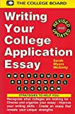 Writing Your College Application Essay, McGinty, Sarah M., 0874474299