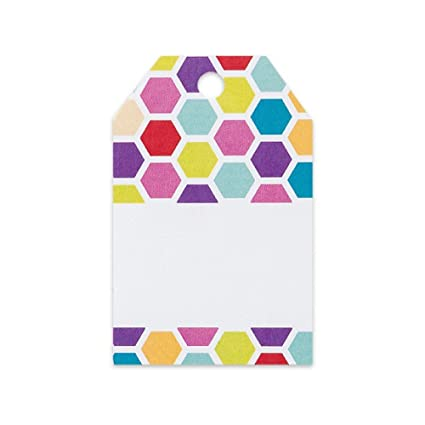 Amazon.com Rainbow Honeycomb Printed Gift Tags - 2 1/4 x 3 1/2 - 50 Pack Everything Else  sc 1 st  Amazon.com & Amazon.com: Rainbow Honeycomb Printed Gift Tags - 2 1/4 x 3 1/2 - 50 ...