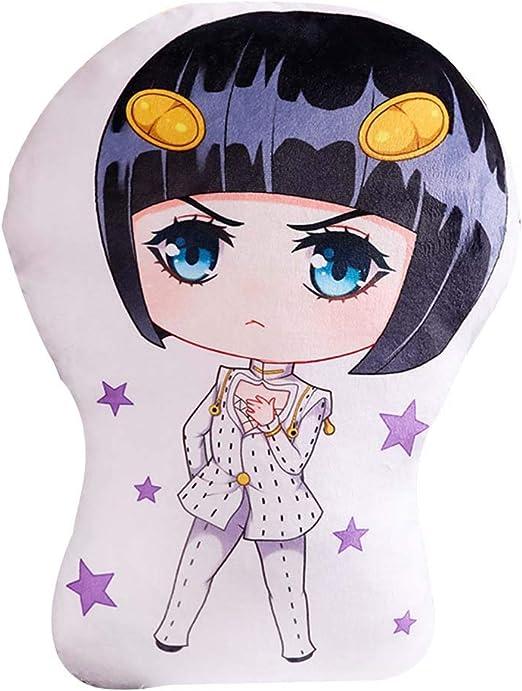 Anime JoJo/'s Bizzare Adventure Golden Wind Cushion Pillow Toy Plush Doll Stuffed