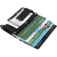 Smart Card Holder Credit Card Holder Card Case RFID Minimalist Money Clip Small Wallet for Men