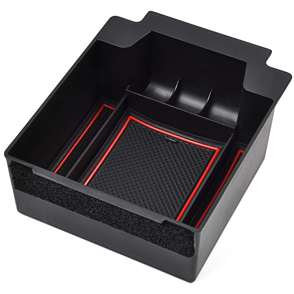 OTUAYAUTO Handschuhfach Armlehne Aufbewahrungsbox Center Console Armrest Storage Box Innen Zubeh/ör f/ür Ateca