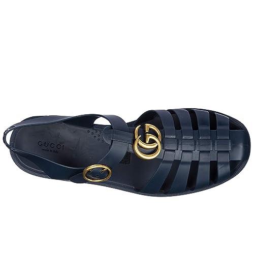 003a36781 Gucci Sandalias de Hombre Nuevo BLU EU 44 463463J87004009: Amazon.es:  Zapatos y complementos