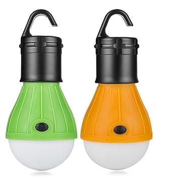 2 St/ücke Abenteuer,Angeln Eletorot LED Campinglampe Zeltlampe Gl/ühbirne Set-Notlicht COB150 Lumen f/ür Camping Notfall Garage Stromausfall wasserdicht