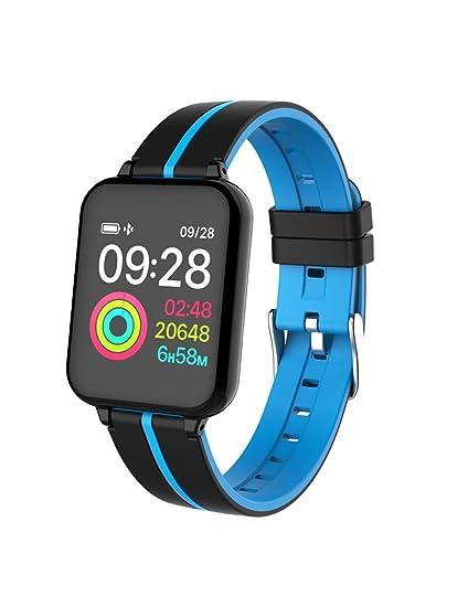 DZKQ Reloj Inteligente Resistente Al Agua Smartwatch Monitor ...