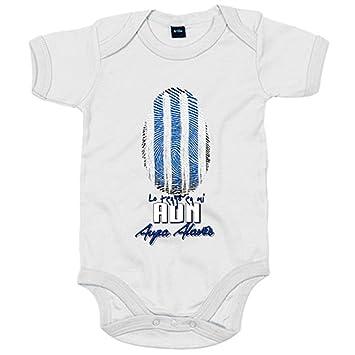 Body bebé lo tengo en mi ADN Alavés fútbol - Blanco, 6-12 meses: Amazon.es: Bebé