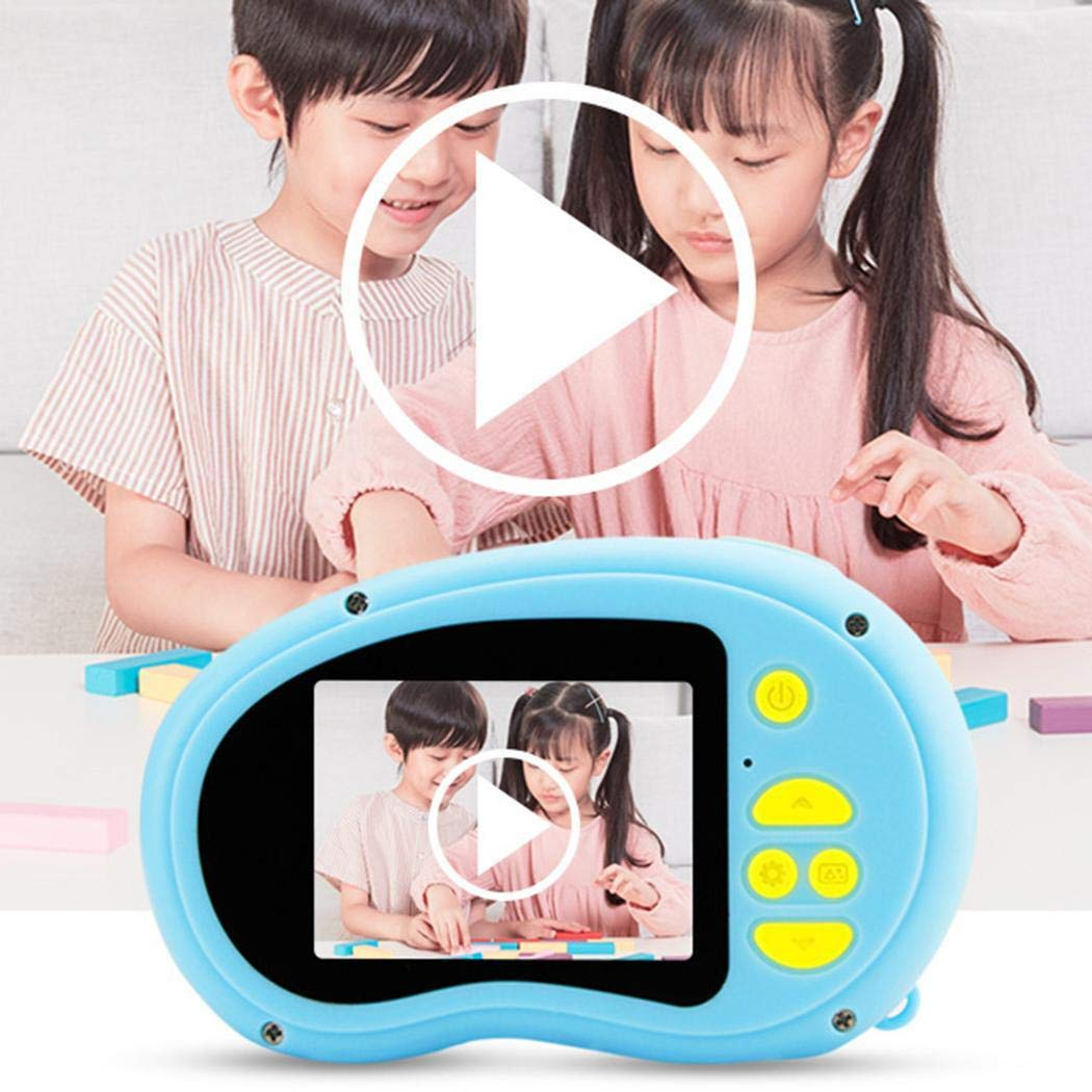 Yirind Kids Camera Support Video Function, 2 inch HD Digital 800MP Child Camera for Outdoor Play, for 3-12 Years Old Children (SD Card Not Included),Blue by Yirind (Image #8)