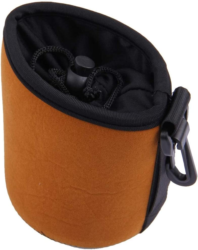 Color : Color2 8.5 x 8cm Protective Camera Lens Bag Universal Waterproof Padded Protector Neoprene Camera Lens Bag for Canon//Nikon//Sony Cameras Size S