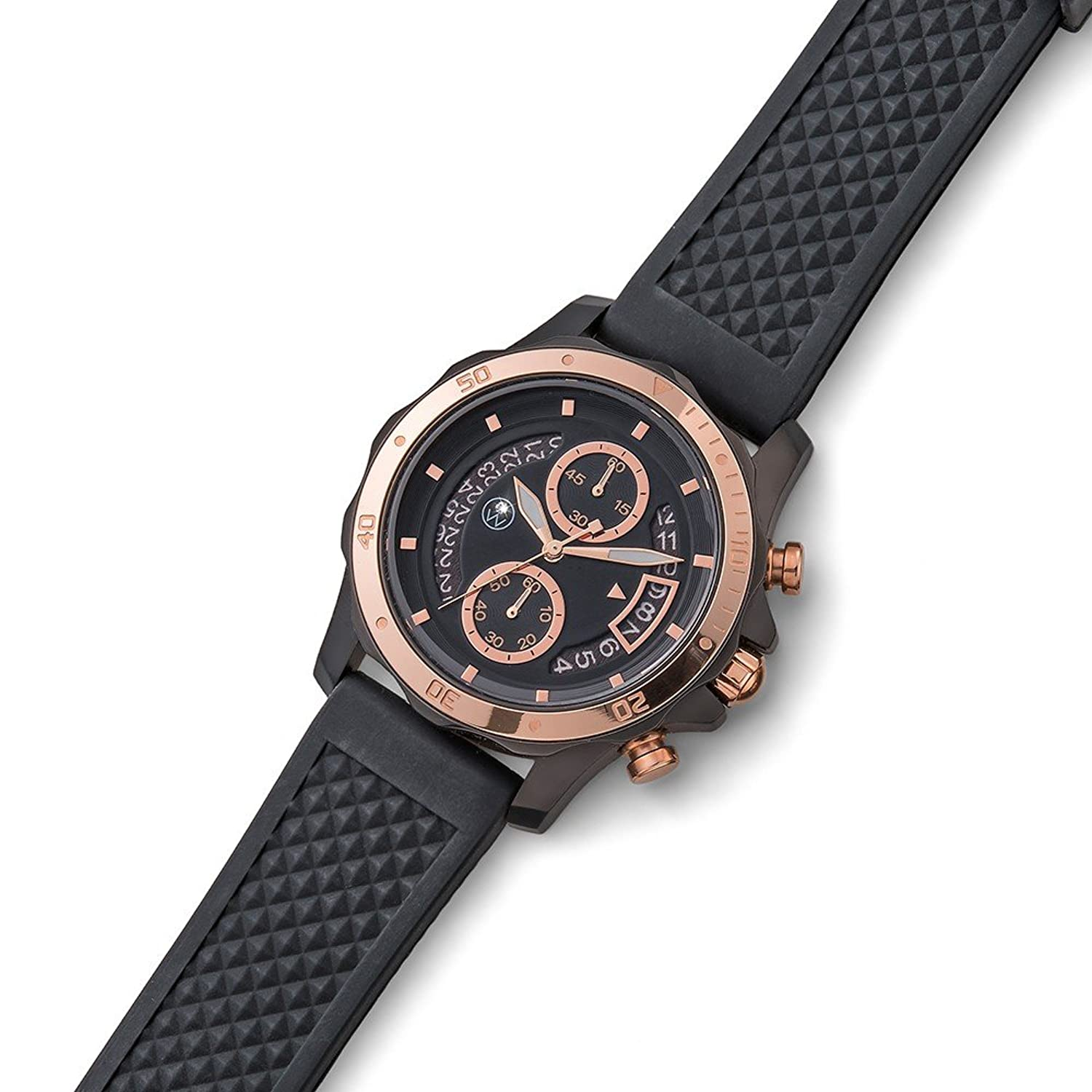 Oliver Weber Uhr Munich IP rosegold with Crystals from Swarovski Damen