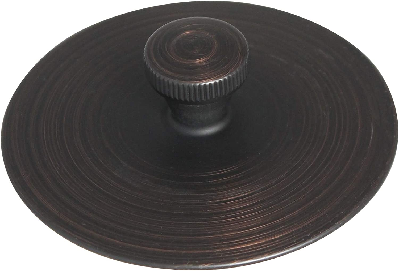 Venetian Bronze Keeney K826-35VB Quick Cover Up Tub Stopper