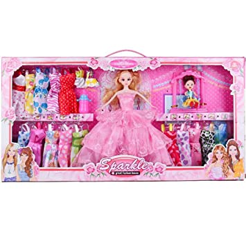 Amazon.es: Juego de ropa de muñeca para niña Muñecas ...
