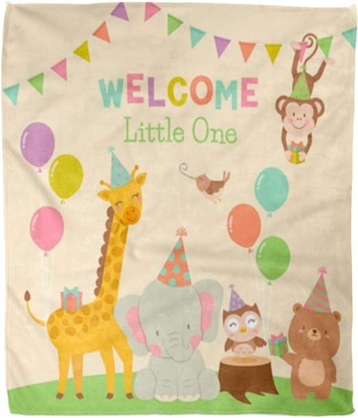Baby Kids Comfort Soft Hugs Blanket Cute Bear Plush Stuffed Washable Smooth Hot