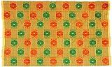 Fair Trade African Ghana Kente Cloth, 62'' Across Approximately, 7729