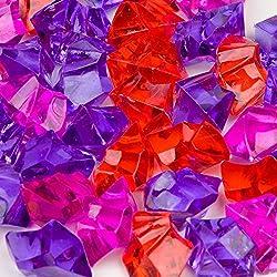 Petco Mermaid Mix Jewel Gravel Accents, Pink