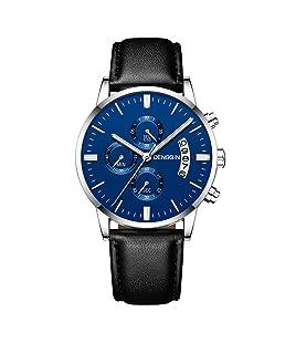 Waselia Uhren Herren GüNstig Armbanduhren Fashion Smartwatches Analog Chronograph Schweizer Uhren Zeitgenosse Und Design Quarz Edelstahl Armband Wasserdicht Mesh Luxus Digital