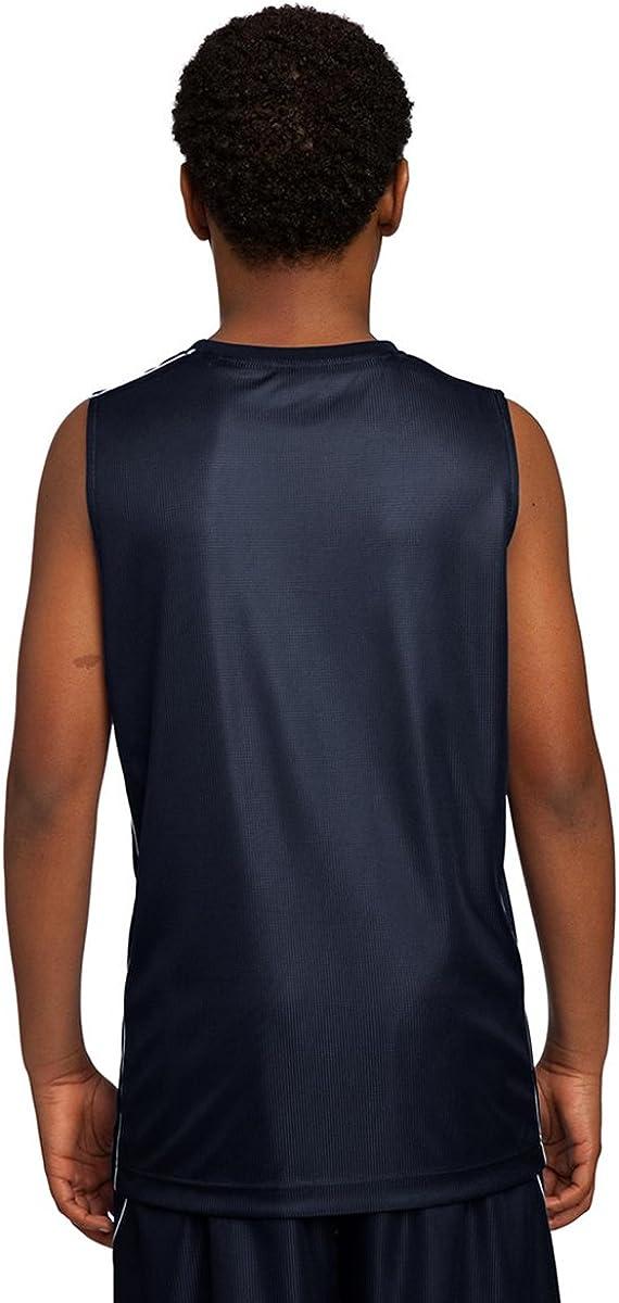 Sport-Tek YT555 Youth PosiCharge Mesh Reversible Sleeveless Tee