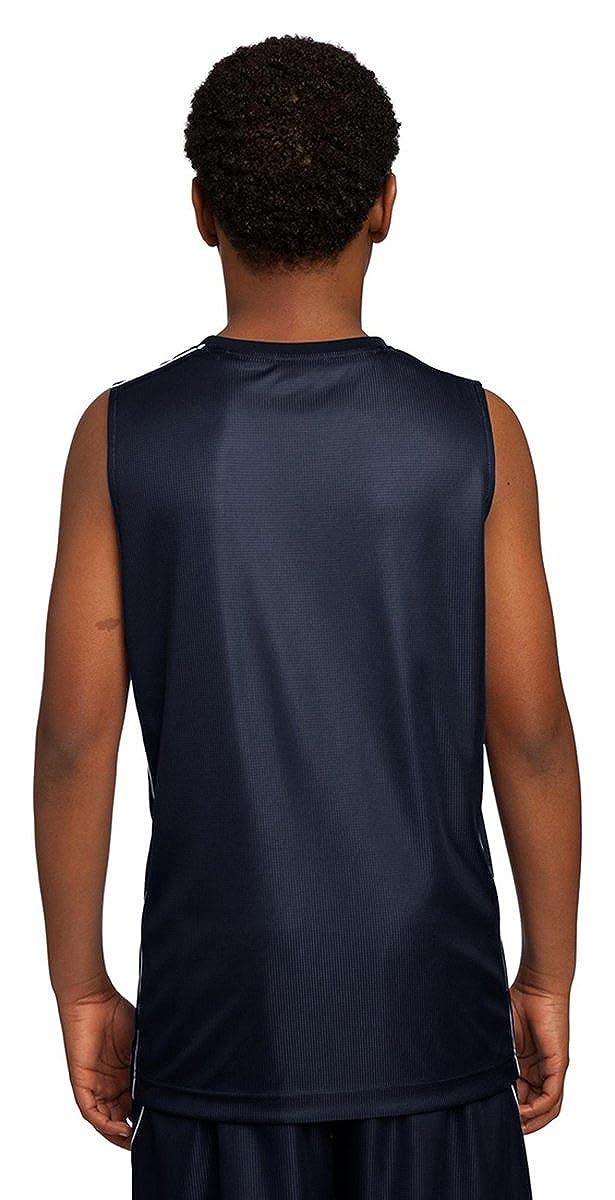 Sport-Tek Youth Reversible Sleeveless Workout T-Shirt