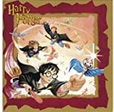 "Harry Potter ""Harry, Ron & Hermione Trio"" Christmas Card Imported from England"