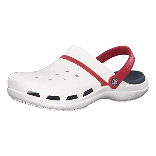 official site outstanding features cheap prices Crocs Shoes - Modi Sport Clog - White Navy Pepper, Size:12 UK