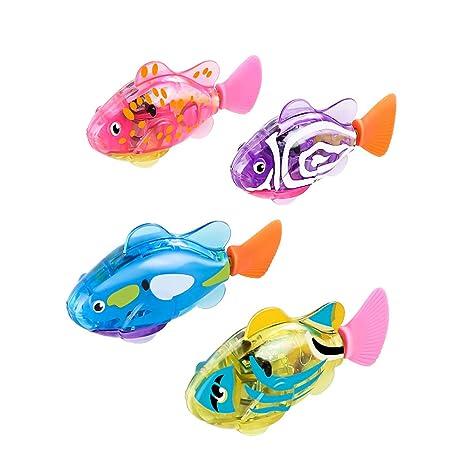 Amazon.com: Robot de pesca para gatos, 4 unidades, juguete ...