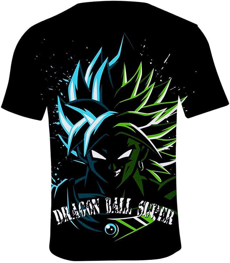 XXS-XXXXL 110CM-160CM YUANOU 2019 Nuova Dragon Ball Super 3D T-Shirt A Manica Corta Adulti Bambini Magliette Fit Uomini E Donne