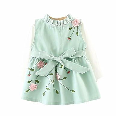 059d0d9bf78b Zerototens Baby Girls Clothes Set Toddler Kids Long Sleeve White Long  Sleeve Blouse T-Shirt