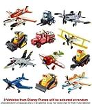 Disney's Planes Mega Value Pack (3 Random Disney Planes Vehicles Supplied No Duplicates)