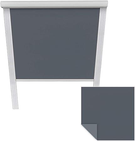 Victoria M Store Obscurcissant Convient Pour Velux Fenêtre De Toit Mk04 Bleu Sombre