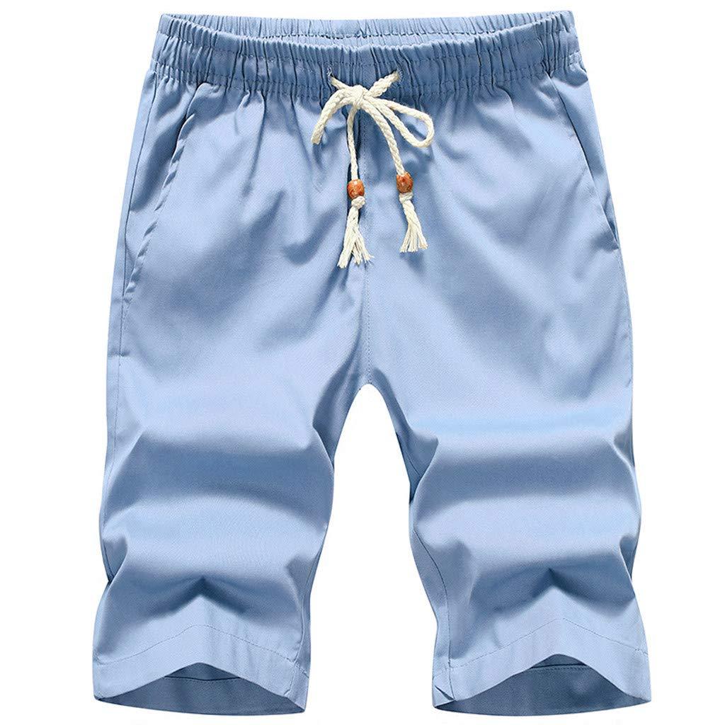 Homstar Fashion - Pantalones Cortos de Playa para Hombre ...