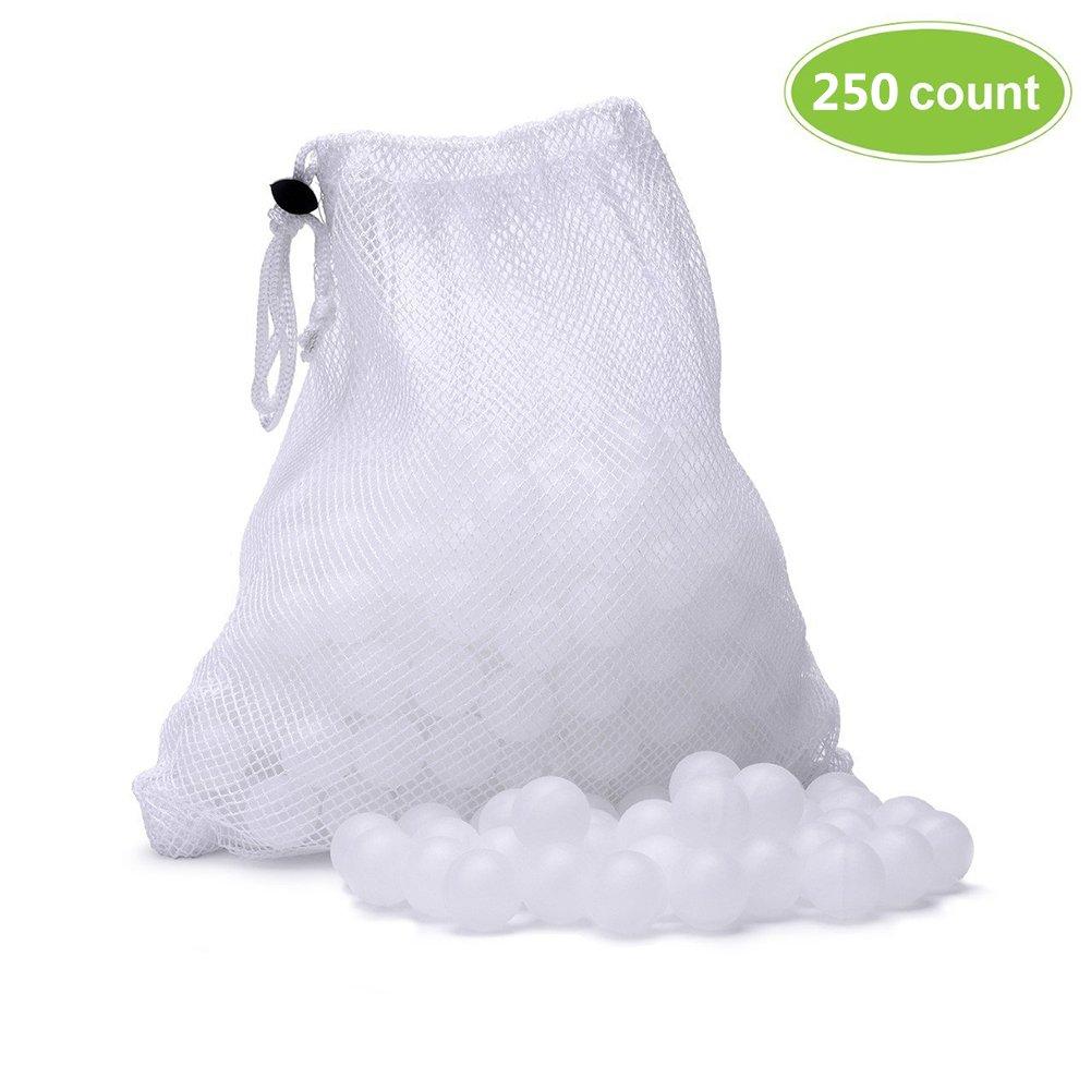 Confezione da 250sfere per cottura sous-vide in bagno d'acqua, con sacchetto in rete per l'asciugatura Lembeauty