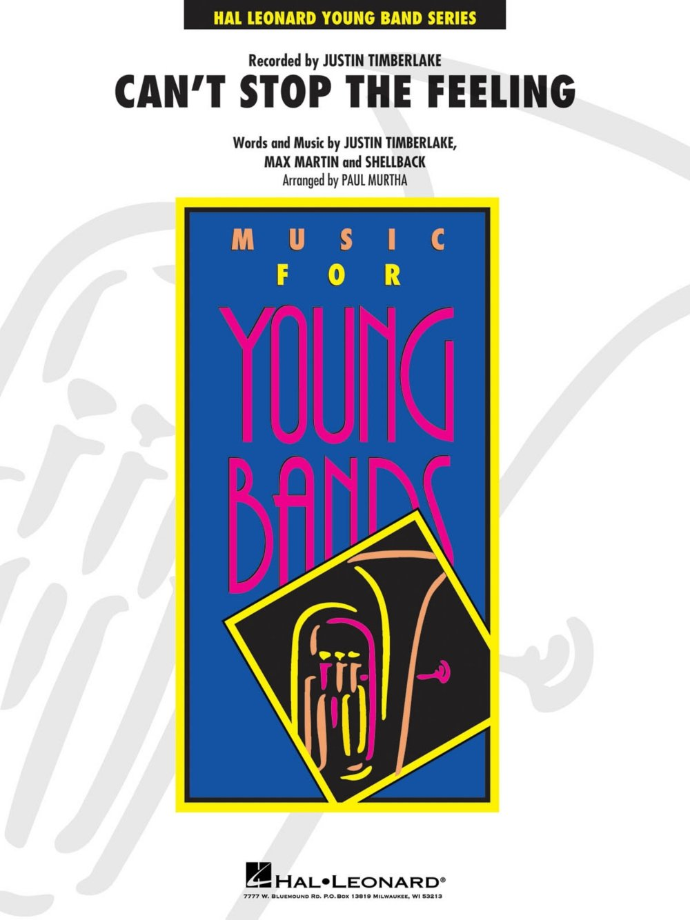 Download Hal Leonard Can't Stop the Feeling - Young Concert Band Level 3 by Paul Murtha pdf epub