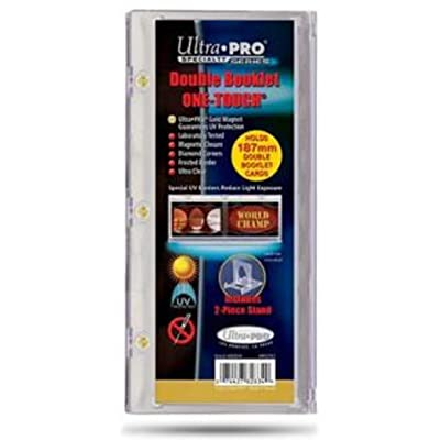 Ultra Pro 1X Vertical Booklet Card Holder w/Stand - UV One Touch Magnet Magnetic 187mm Long~: Toys & Games