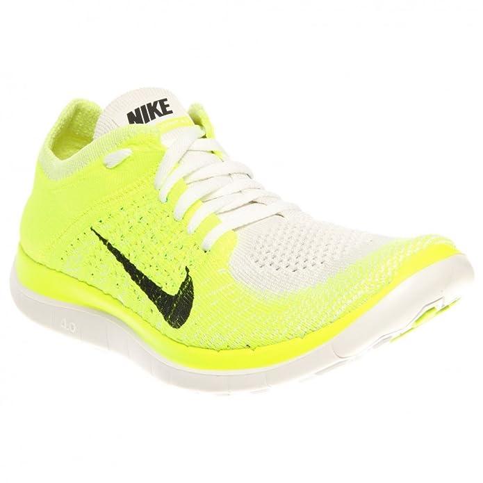 purchase cheap 3f6c8 eba33 Nike - W Free Flyknit 4.0, Femme - Vert - Vert, 37,5 EU EU  Amazon.fr   Chaussures et Sacs