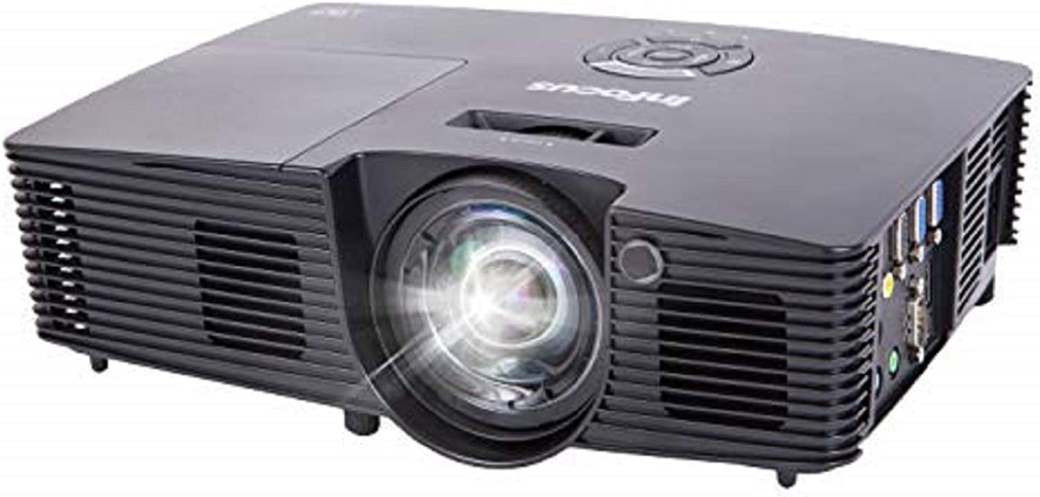 InFocus IN119HDx 1080p DLP Business Projector, HDMI, 3200 Lumens, 15000:1 Contrast Ratio