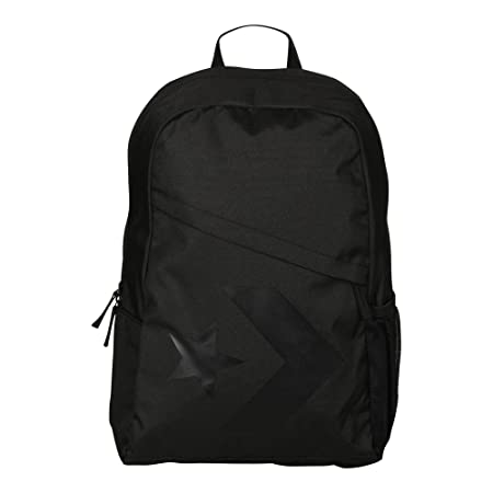 3cc0b2bb5dbf Converse 10005996-A01 Speed Backpack Star Chevron Backpack 001 Black   Amazon.co.uk  Shoes   Bags
