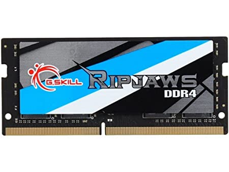 G.SKILL 8GB Ripjaws Series DDR4 PC4-19200 2400MHZ DDR4 260-Pin Extreme Performance laptop Memory Model F4-2400C16S-8GRSB Components at amazon