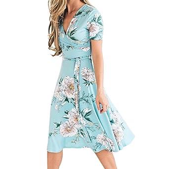 Review Women's Floral Dress, E-Scenery