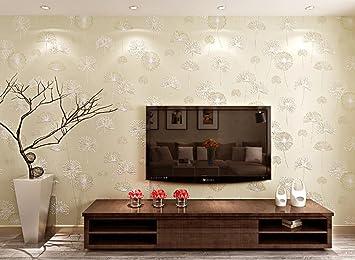 3D Tapete Vlies Garten Schlafzimmer warm romantischen ...