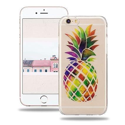 1f71aebee8d Baiwoda Funda iPhone 6/6S Carcasa de Silicona TPU Funda Ultra Delgada  Carcasa Flexible Ligero