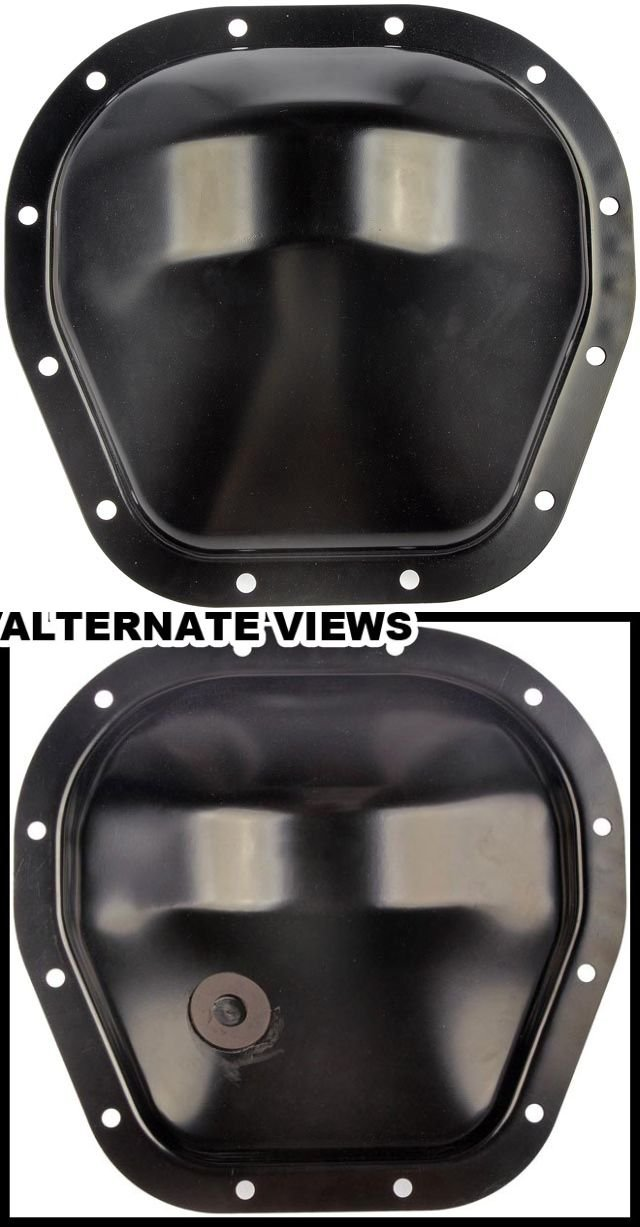APDTY 708815 Rear Differential Steel Cover Fits Select 85-17 Ford Trucks (Match Vehicle To Compatbility Chart To Ensure Exact Fitment; Replaces E5TZ-4033A, E5TZ4033A