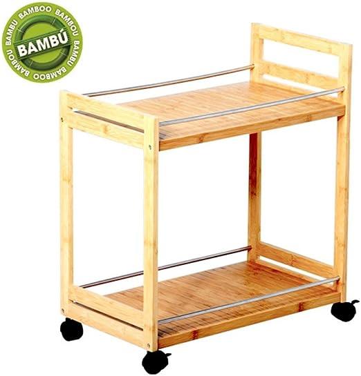 Mesa Camarera de bambú, Hogar y Mas: Amazon.es: Juguetes y juegos