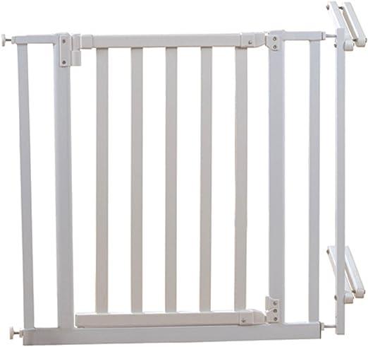 Barrera de seguridad para escaleras Blanco lacado Incluye ...