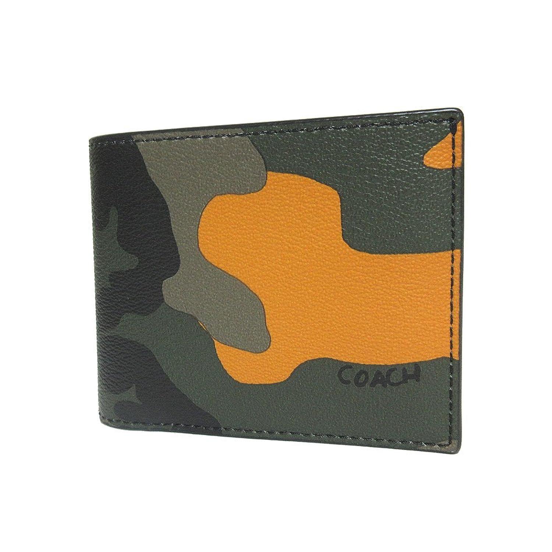 コーチ COACH 財布 F32438 3IN1 カモフラージュ プリント PVC レザー コンパクト ID コイン ウォレット 二つ折り財布(小銭入れ有り) TAG 【アウトレット】 [並行輸入品] B07DGS6D6N