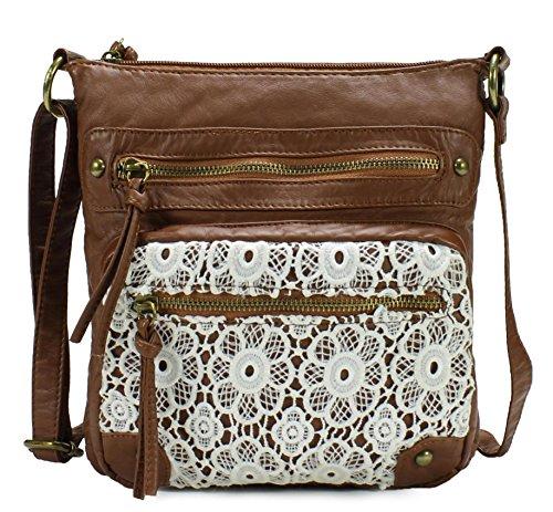 Scarleton Chic Lace Style Crossbody Bag H1912