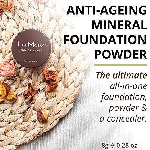 La Mav Anti-Ageing Mineral Foundation Powder MEDIUM