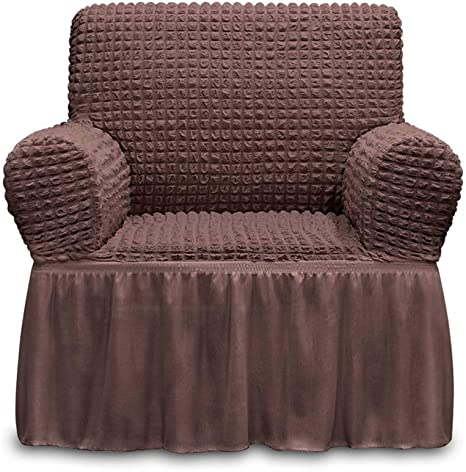 1-seater Sofa Cover Chair Slipcover for Armchairs Universal Seat Couch Cover