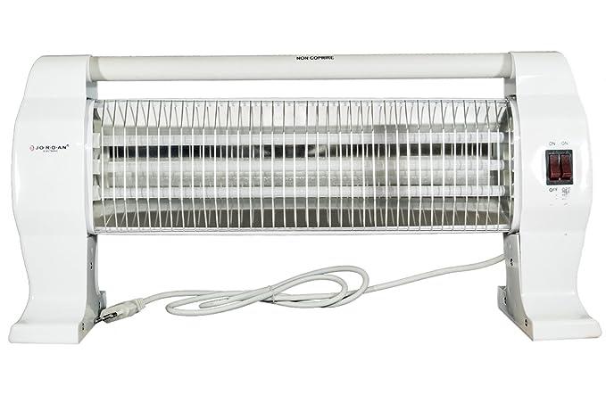 Estufa eléctrica al cuarzo 3 elementos 1200 W portátil Jordan jo-qh-90i
