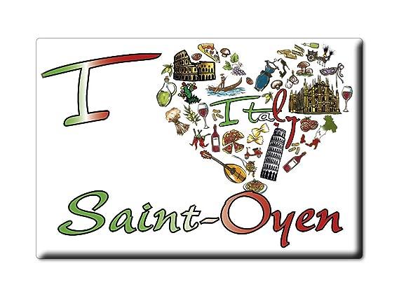 Enjoymagnets Saint-OYEN Souvenir IMANES DE Nevera Valle DAOSTA ...