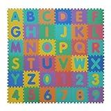 Velovendo - tappeto puzzle in soffice schiuma EVA | tappeto da gioco per bambini | tappetino puzzle
