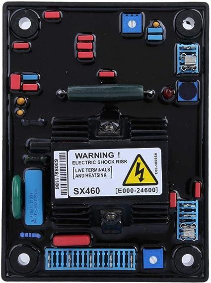 SX460-A Regulador de Voltaje Controlador 120/240 VAC Monofásico AVR Generador Repuestos Automáticos